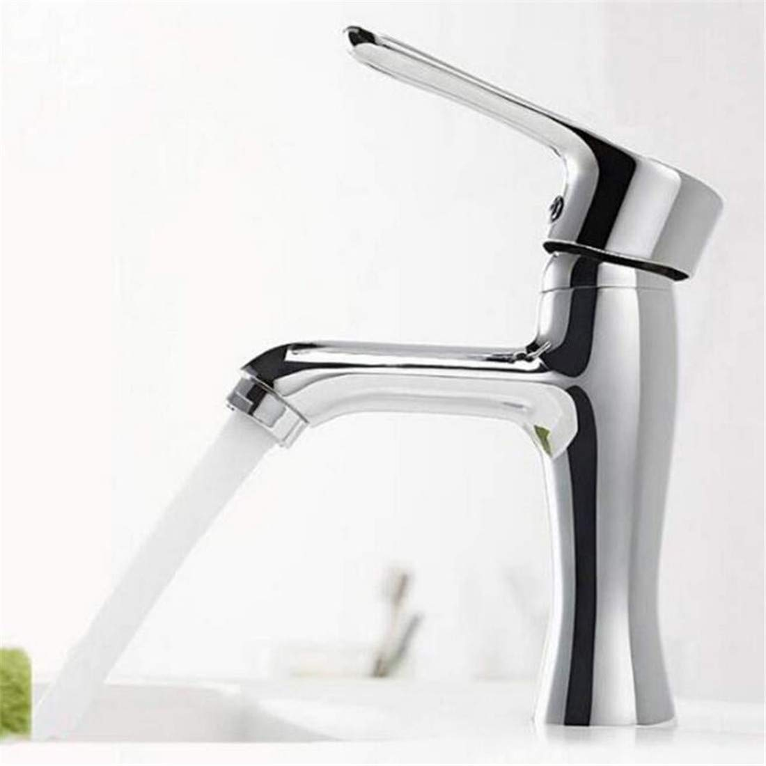 Chrome Kitchen Sink Tapmodern Bathroom Products Chrome Finished Hot and Cold Water Basin Faucet Mixer Single Handle Water Tap Torneira