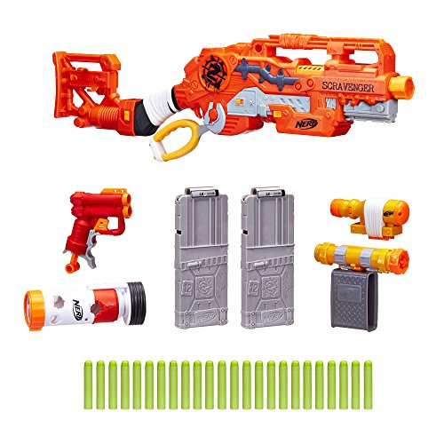 Scravenger Nerf Zombie Strike Toy Blaster with Two 12-Dart Clips Deal (Large Image)