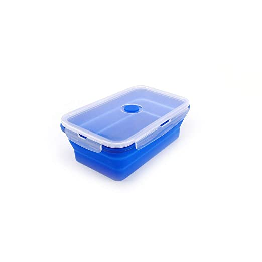 TAOHOU Colorful Foldable Silicone Lunch Box Eco-Friendly Container ...