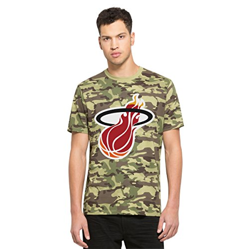 (NBA Miami Heat Men's '47 Alpha Camouflage Tee, Multi Camo, XX-Large)