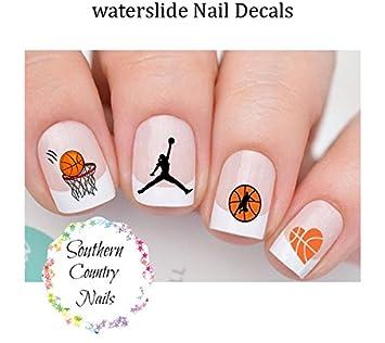 Amazon Sports Basketball Design 102 Nail Art Designs Decals