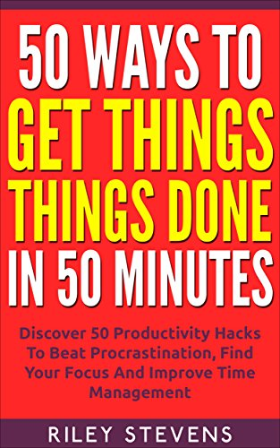Ways Things Done Minutes Procrastination ebook product image