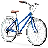 sixthreezero Explore Your Range Women's 7-Speed Hybrid Commuter Bicycle, 17-Inch Frame/700C Wheels, Navy Review