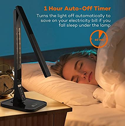 Buy Taotronics Elune Tt-Dl01 Dimmable Led Desk Lamp 5-Level Dimmer(Black)  Online at Low Prices in India - Amazon.in - Buy Taotronics Elune Tt-Dl01 Dimmable Led Desk Lamp 5-Level Dimmer