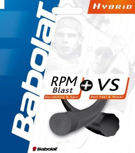 Babolat Combo Pack RPM Blast 17 Plus VS 16 Tennis String