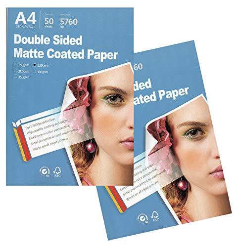 - Best Double sided matte Inkjet Printing Photo Paper 8.3