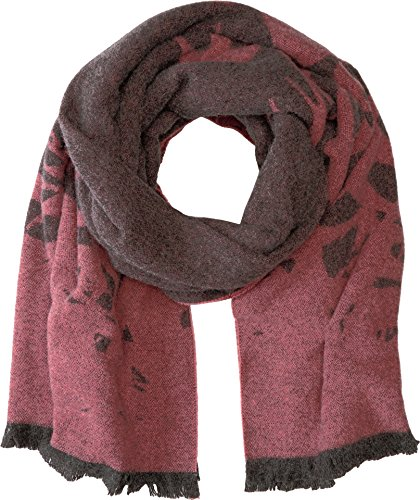 McQ Women's Swallow Scarf Charcoal Grey One Size by McQ