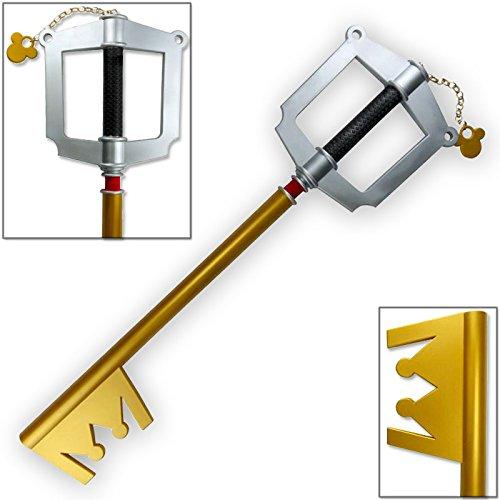 Kingdom Key (Kingdom Hearts FOAM Keyblade Dark Side Key D OFFICIALLY LICENSED)