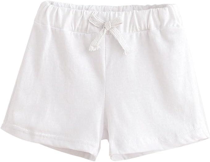 LHWY-barboteuse V/êtements Enfants Tenues,Enfants d/ét/é Coton Shorts Gar/çons et Fille V/êtements B/éb/é Pantalon /à la Mode by LHWY
