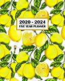 2020-2024 Five Year Planner: Fresh French Provencal Country Lemon | 60 Month Calendar and Log Book | Business Team Time Management Plan | Agile Sprint ... 5 Year - 2020 2021 2022 2023 2024