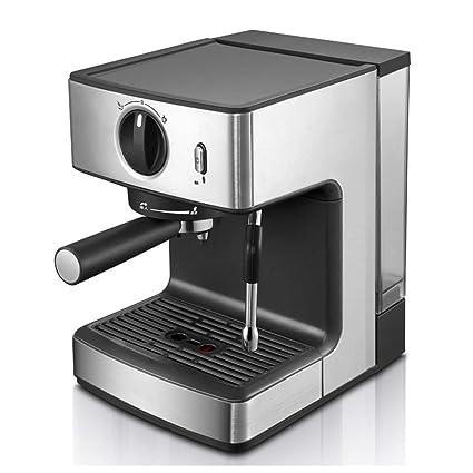 Liixn Máquina de café Semiautomática Leche de Vapor Cafetera Cafetera 1250W Italiano (Color : La