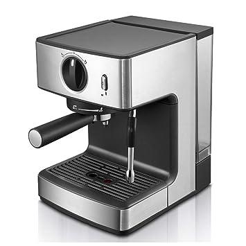 Xiuyun Máquina de café Semiautomática Leche de Vapor Cafetera Cafetera 1250W Italiano (Color : La Plata, Tamaño : 31.5 * 21.5 * 21.2cm): Amazon.es: Hogar