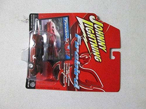 Firebird Ram - Johnny Lightning Firebird 2001 Pontiac Firebird Ram Air 1/64 Red