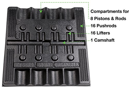 Goodson Organizer Tray for Chevy Small Block Parts   24'' x 25'' x 1-1/2'' by Goodson (Image #2)