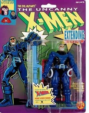 Toy Biz Marvel The Uncanny X-Men Apocalypse (Extending Body) Action Figure 5 Inches