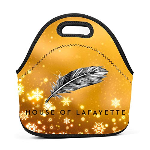 (Rainbow Space House of Lafayette Neoprene Lunch Tote Bags)
