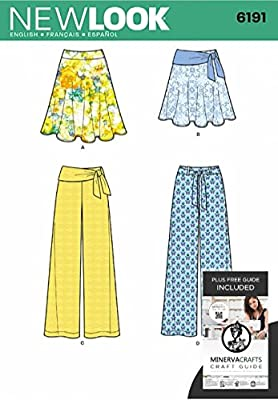 New Look Sewing Pattern - patrones de costura para 6191 e ...