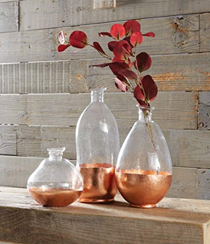 MUDPIE Medium Copper Glass VASE