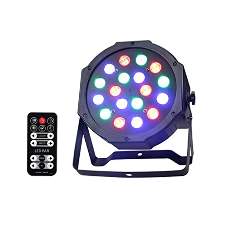 LED por Lamp18LED Disco DJ Light con mando a distancia Flash ...