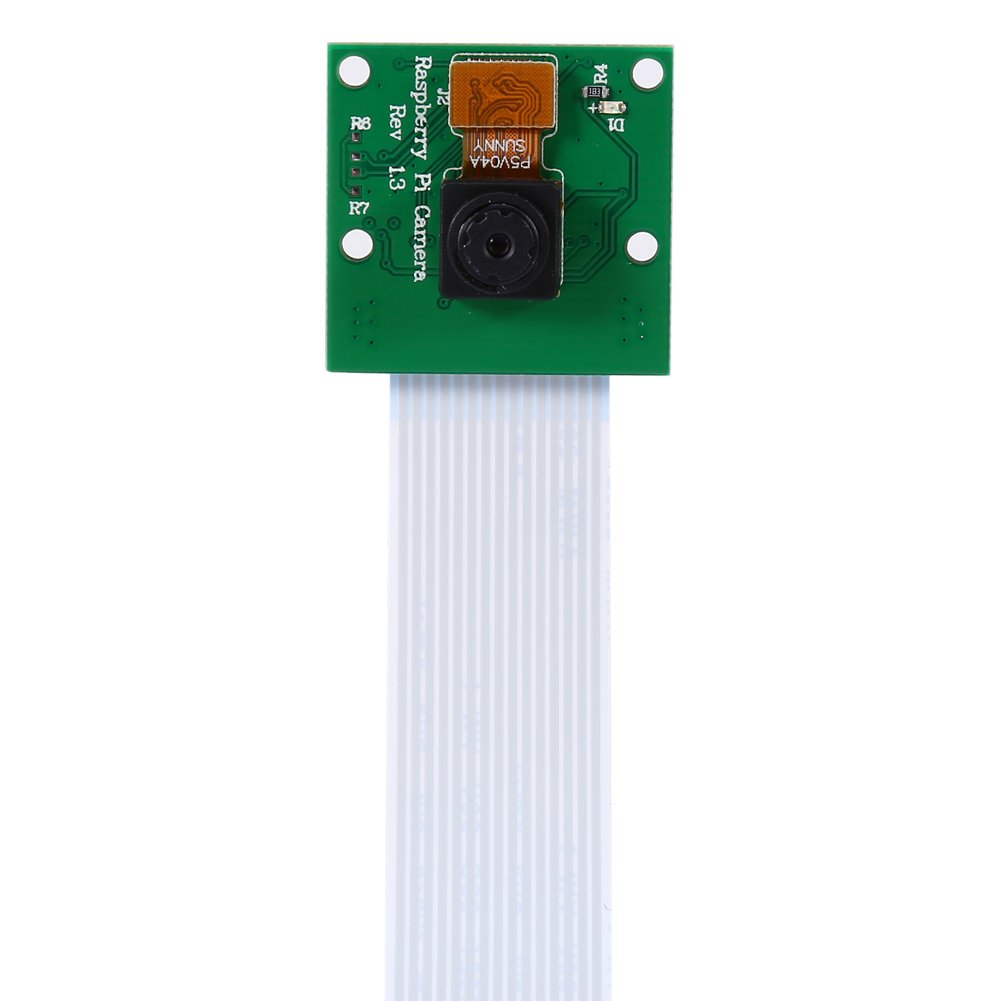 Camera Module Board Raspberry Pi 5 Megapixel Resolution 1080P HD Video Resolution Wal front