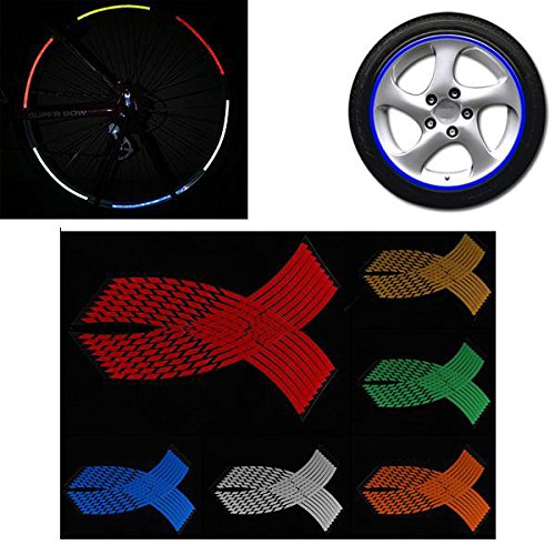 Decanter Pinwheel (Exterior Accessories - Tape Reflective Motorcycle Decals Stickers Wheel Rims Stripe Decal - Multi Color Wheel Stickers Reflective Rim Stripe Decal Tape - - 1PCs)