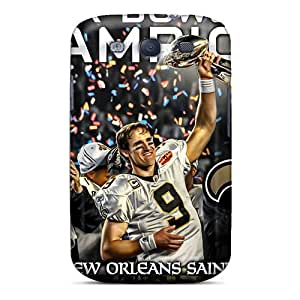 New Fashionable GAwilliam QeF3767BwQz Cover Case Specially Made For Galaxy S3(new Orleans Saints)