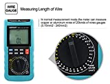 ALLOSUN Digital Cable Length Multimeter Wire Gauge