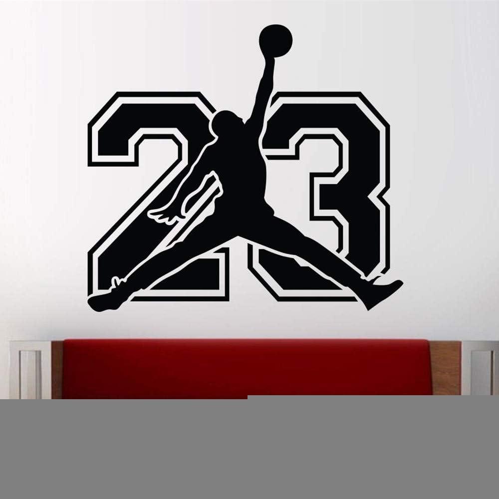 pegatina de pared etiqueta de la pared Michael Jordan Pegatinas ...