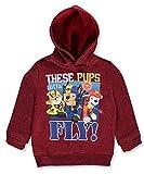 Nick Junior Nickelodeon Toddler Boys Burgundy Size 2T-4T PAW Patrol Hoodie Sweatshirt (2T)