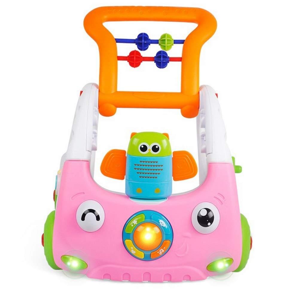 Juguete para niños pequeños Centro de actividades ajustable con 3 ...
