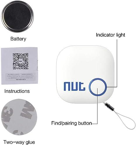 Alarma Vestibles para Beb/éS SNOWINSPRING Rastreador de Etiquetas Inteligente de Triple Esquina Ultrafino Buscador de Mascotas y Ni?Os Localizador GPS Billetera con Llave