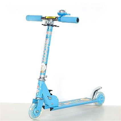 ZHIJINLI Scooter Deportivo de Dibujos Animados para niños y Adolescentes Carro Elevador Scooter Deslizante Scooter Deslizante