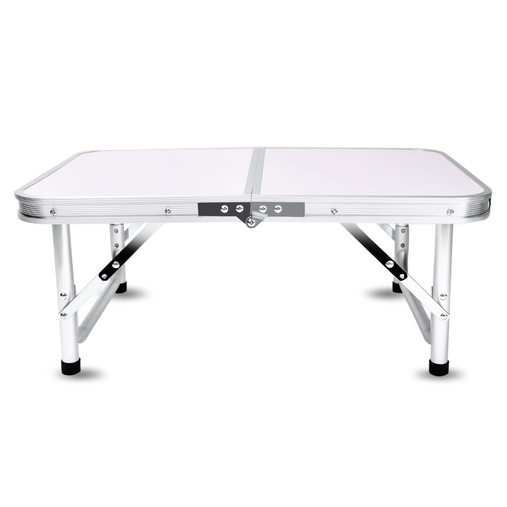 Aluminum Folding Camping Table Laptop Bed Desk Adjustable Height 60 x 40.5 x 24/41.5cm by DOVOK (Image #8)