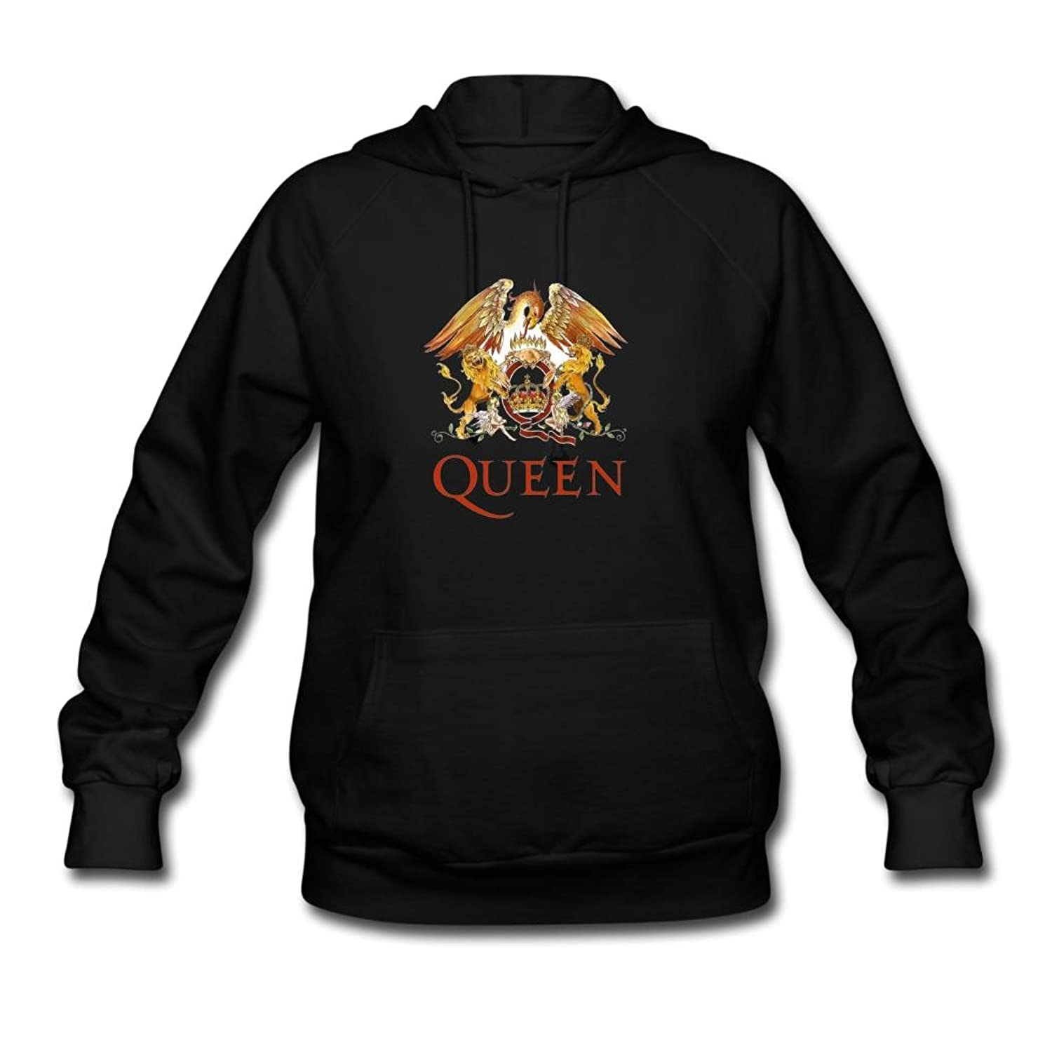 OIAE Women's Queen Band Logo Hoodies Sweatshirt