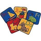Carpet Kits ABC Phonic Block Kids Rugs Rug Size: 1' x 1'