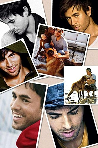 (Enrique Iglesias Singer Songwriter Musician Actor Record Producer 12 x 18 Inch Quoted Multicolour Rolled Poster)