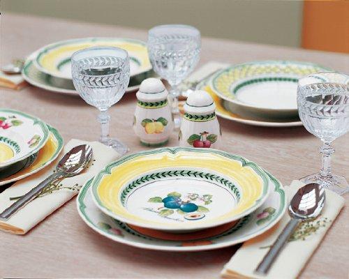 Villeroy boch french garden valence rim soup bowl plum for Villeroy and boch french garden