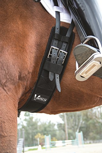 Professionals Choice Equine Ventech Dressage Girth (Size 26-Inch, Black)