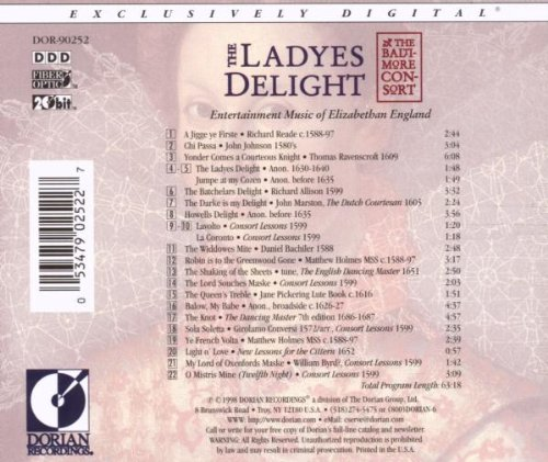 The Ladyes Delight