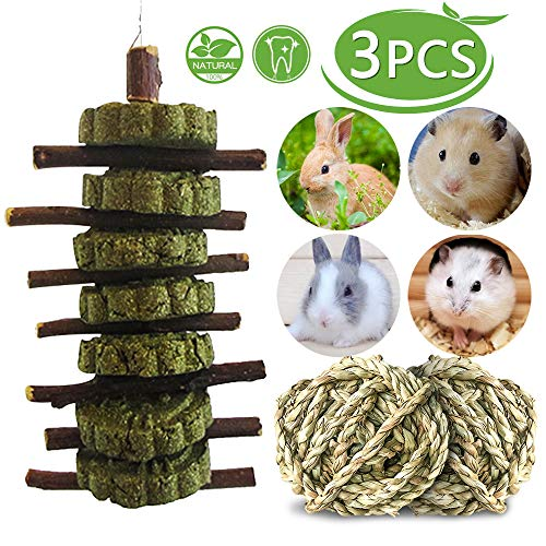- Bunny Chew Toys,Hamster Chew Toys for Teeth,Guinea Pig Treats,Apple Wood Sticks,Rabbit Chew Sticks,Natural Organic Apple Sticks,Handmade, Suitable for Chinchillas,Gerbil,Rat,Mouse