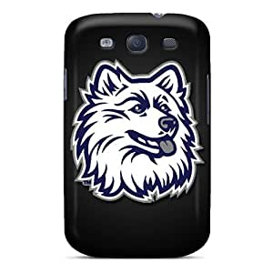 Snap-on Uconn Huskies Case Cover Skin Compatible With Galaxy S3