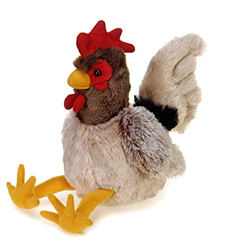 Fiesta Toys Rooster Plush Stuffed Animal Toy - 8 Inches (Stuffed Rooster)