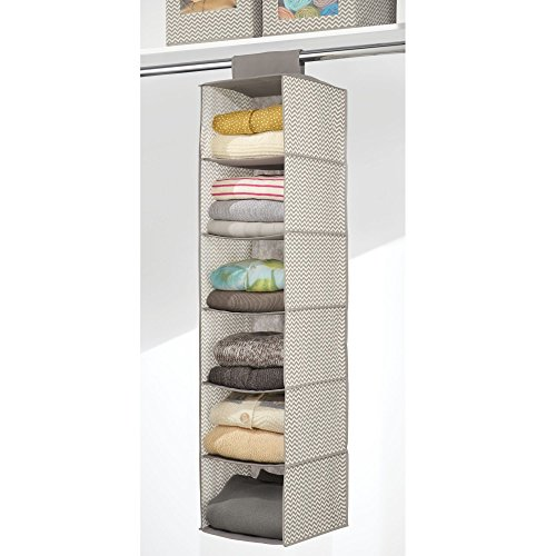mdesign-fabric-hanging-closet-storage-organizer-for-clothing-sweaters-shoes-accessories-pack-of-2-6-shelves-each-taupenatural