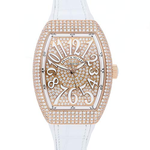 Franck Muller Vanguard Mechanical (Automatic) Diamond Dial Womens Watch 35 V SC at 5N FO D CD BC (Certified Pre-Owned)
