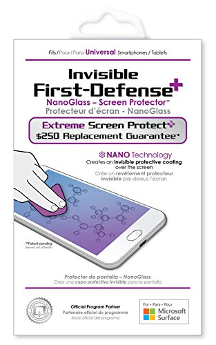 Qmadix Liquid Screen Protector - $250 Screen Replacement Guarantee - Invisible First-Defense+ Extreme NanoGlass Screen Protector for Your Phone or Tablet ($250 Guarantee)