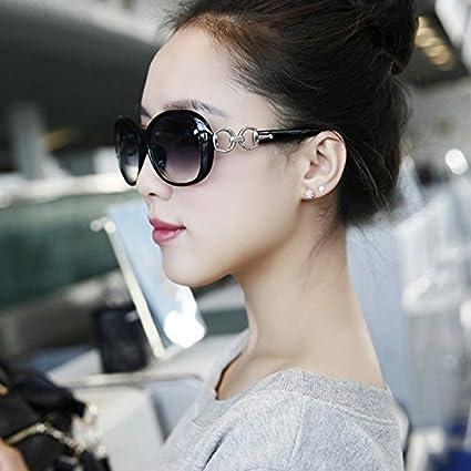 Sunyan [Special] täglich Sonnencreme Sonnenbrille Retro Gläser Sterne, Big Box stilvolle Sonnenbrillen Einfach und Elegant und vielseitig Spiegeln, magische Lila UV-beständig