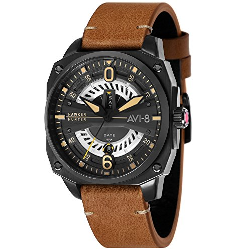 AVI-8 AV-4057 Hawker Hunter Collection (Black/Brown) by AVI-8
