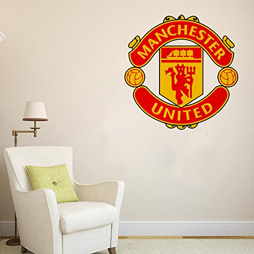 orange-and-orchid-manchester-united-football-club-wall-sticker-for-footbal-lovers-pvc-vinyl-55-cm-x-
