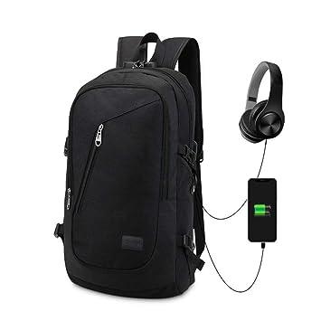 MX-Antirrobo Mochila Impermeable Mochila Para Ordenador Portátil Regalo Para Estudiantes Hombre Para Ordenador Hasta