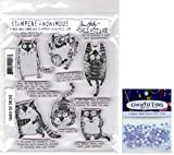 Tim Holtz Snarky Cat - Stampers Anonymous Cling